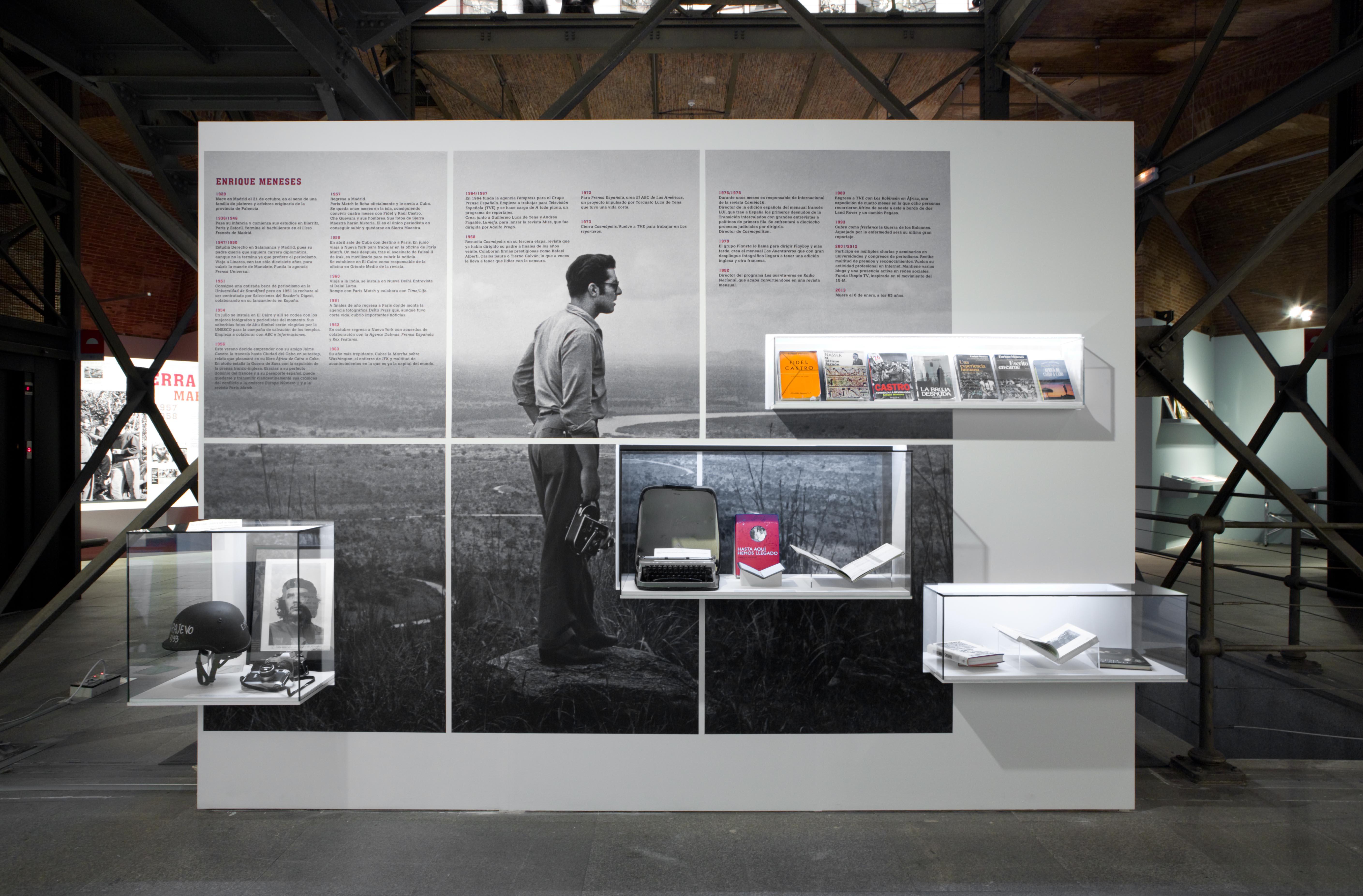 Exposición Enrique Meneses. Foto Pedro S. Albornoz