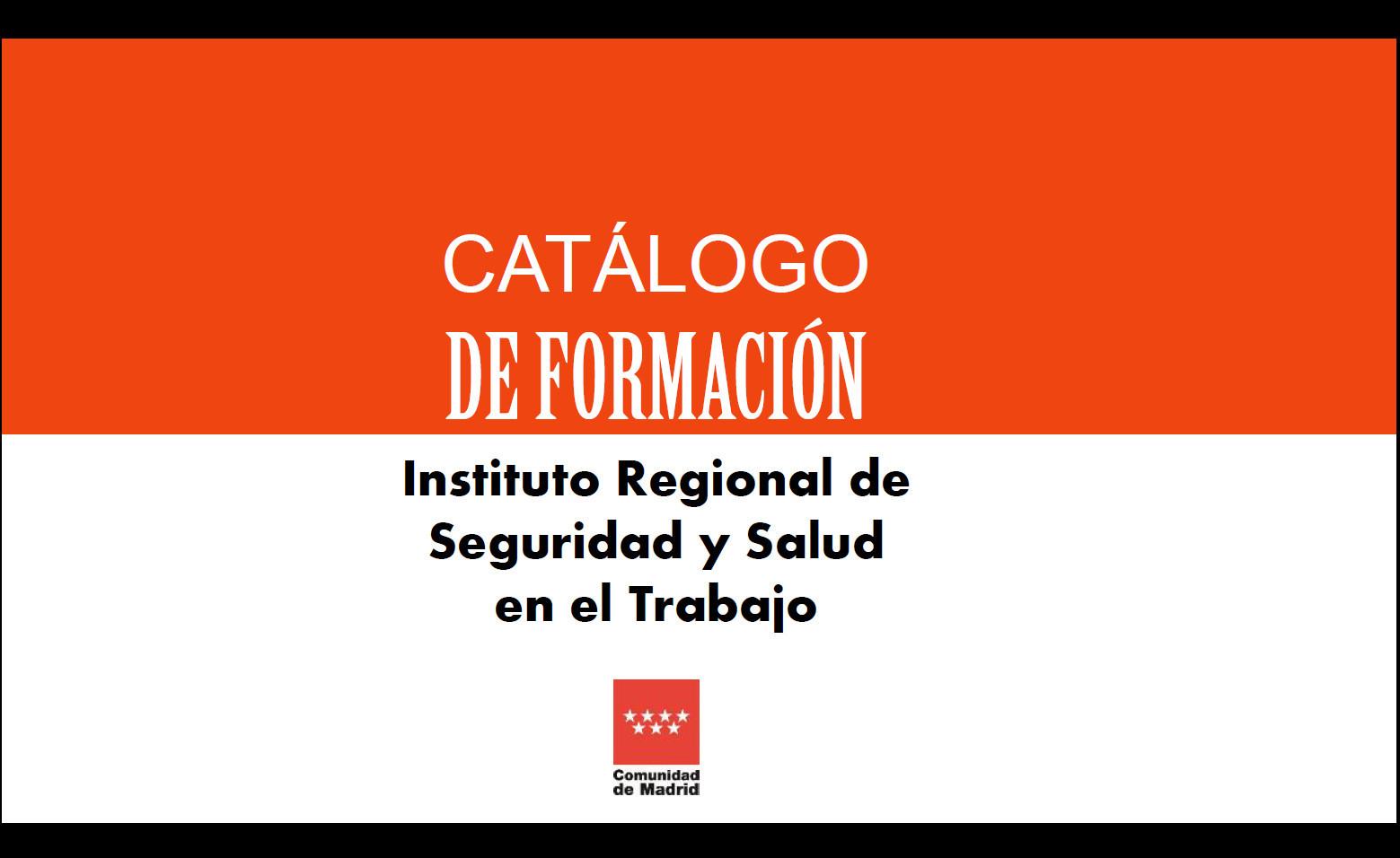 Portada Catálogo de formación 2019
