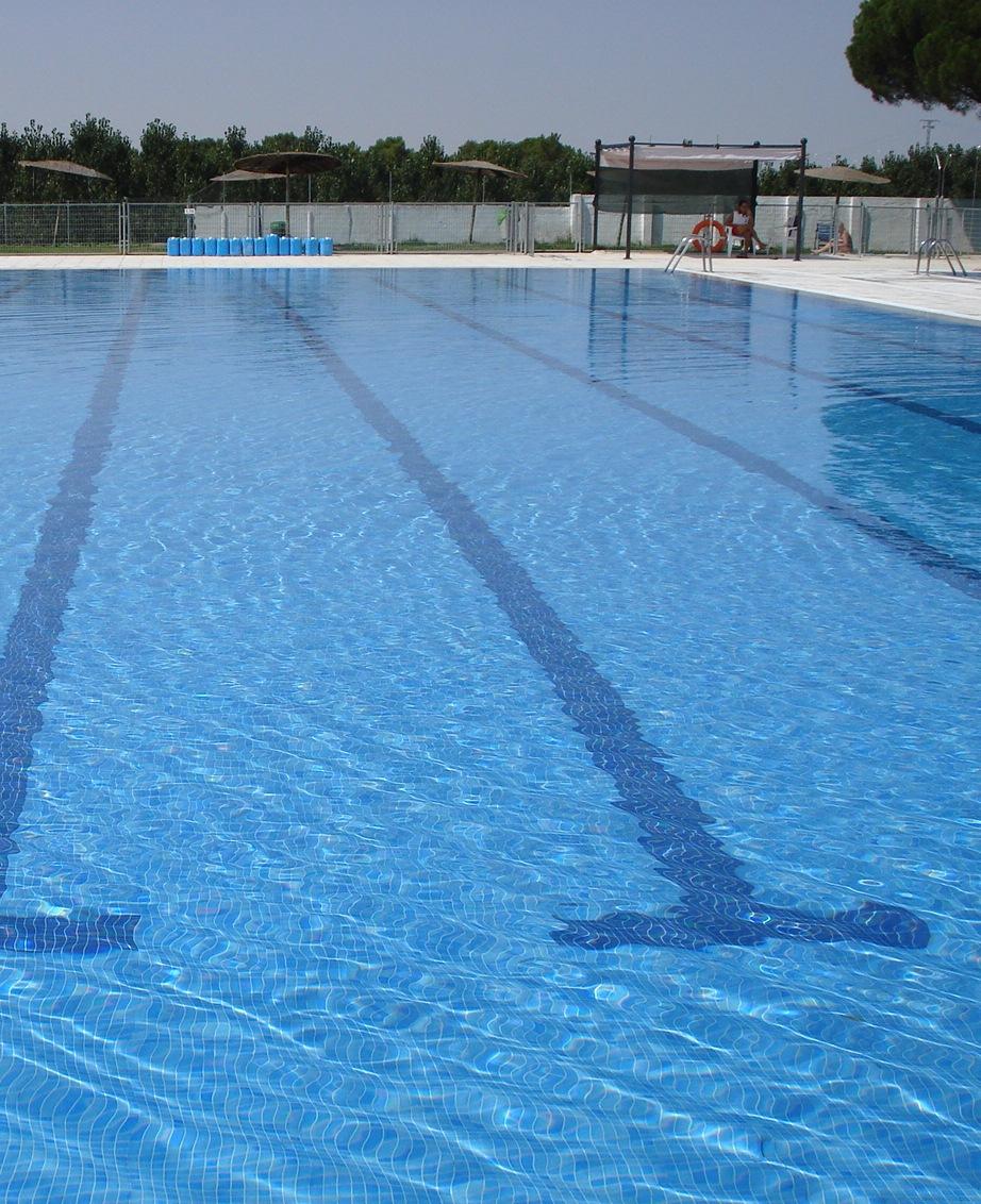 Imagen del vaso de una piscina pública