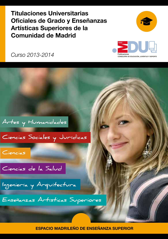 Titulaciones Universitarias de Grado 13-14