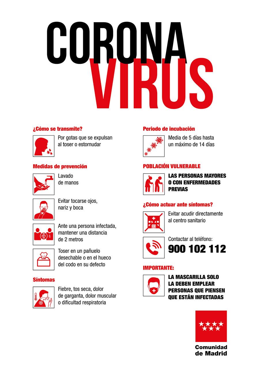 infografía consejos preventivos para evitar la transmisión del coronavirus