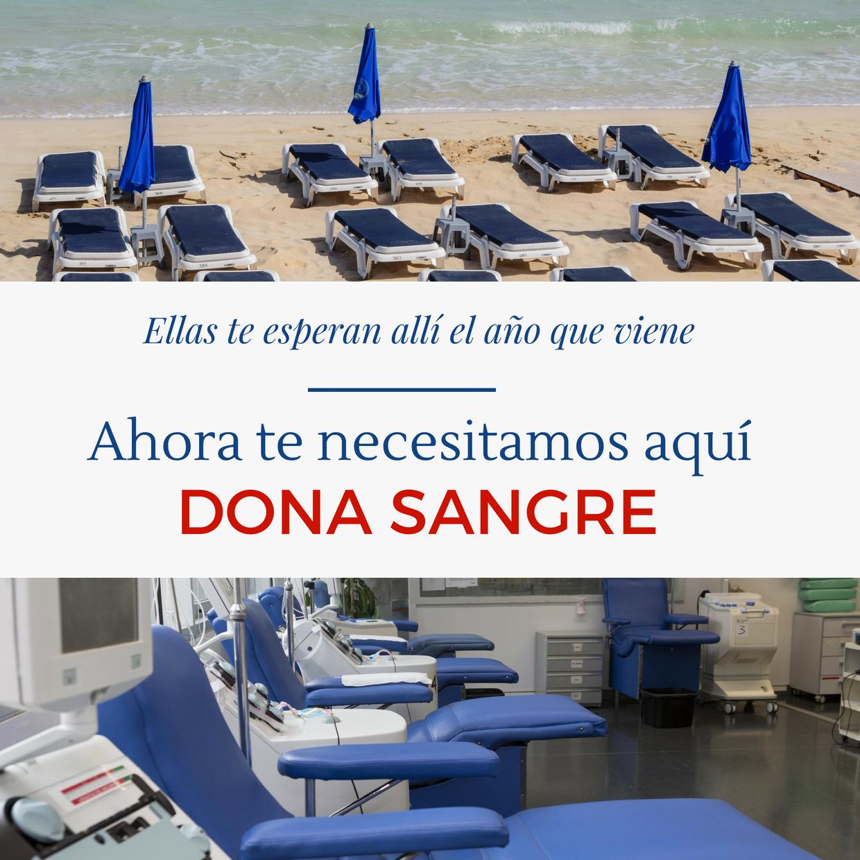 Campaña post vacacional de donación de sangre