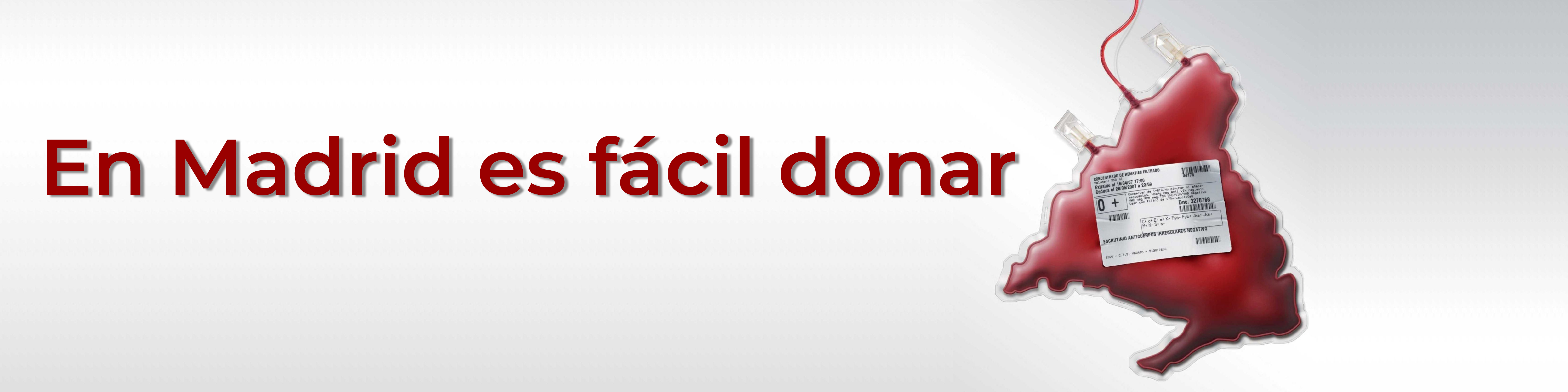 Bolsa de sangre donada