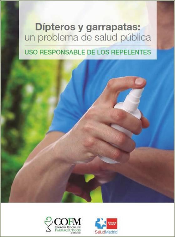Portada de la publicación Dípteros y garrapatas: un problema de salud pública. Uso responsable de los repelentes