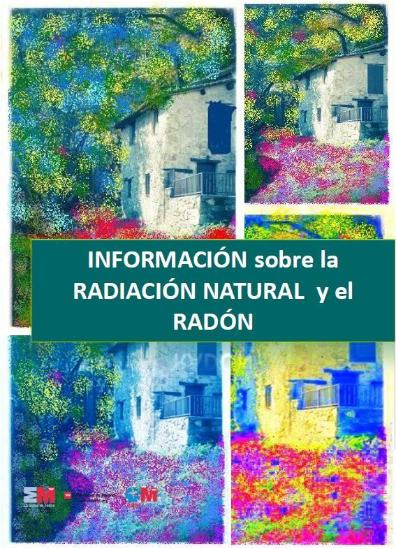 Portada de la publicación Información sobre la radiación natural y el radón