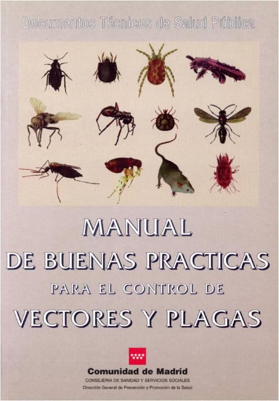 Portada de la publicación Manual de buenas prácticas para el control de vectores y plagas