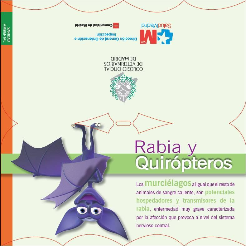 Imagen de la portada de la publicación Rabia y quirópteros