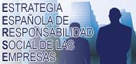 Logotipo con el texto Estrategia Española Responsabilidad Social