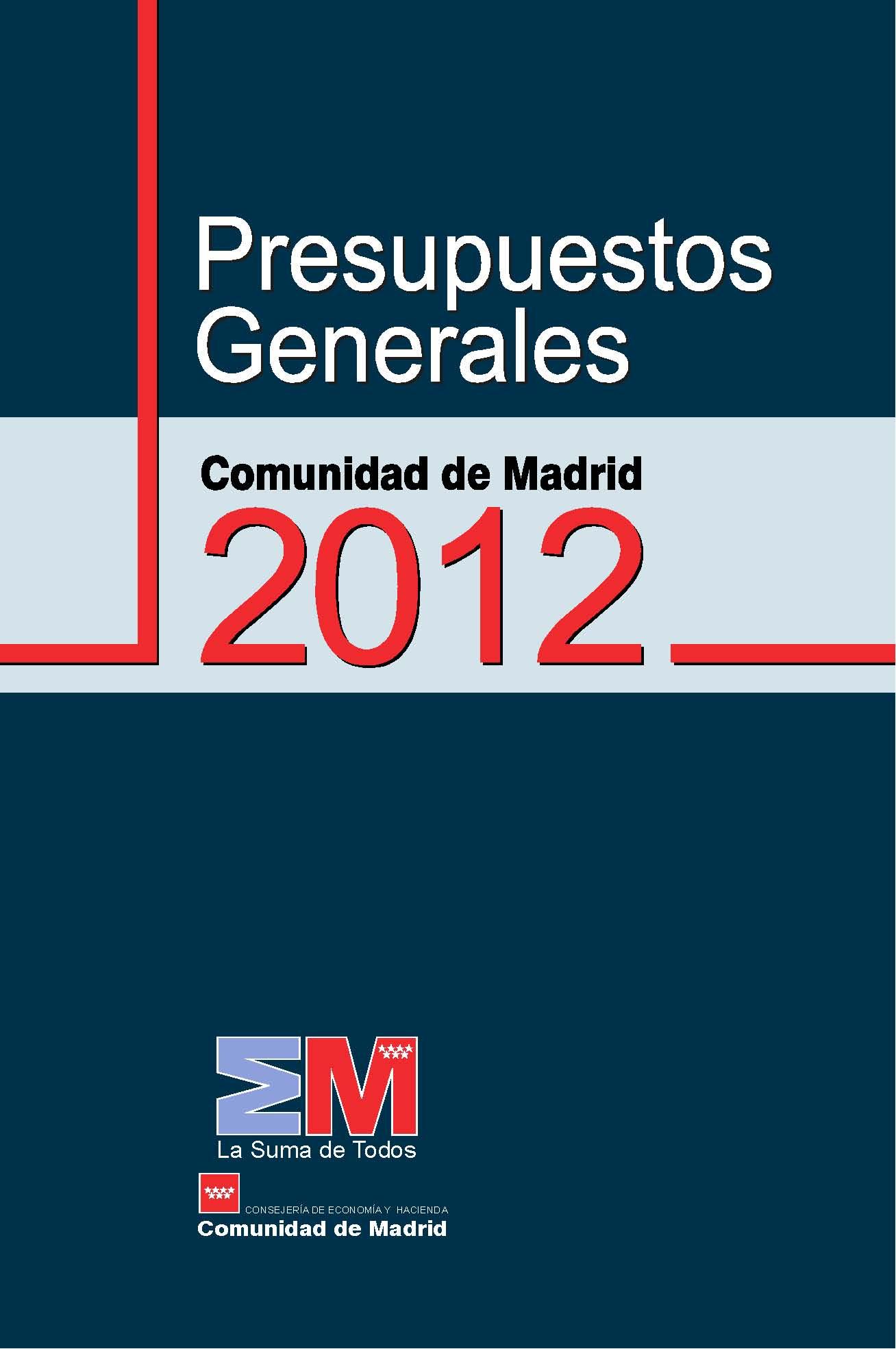 Folleto de Presupuestos 2012