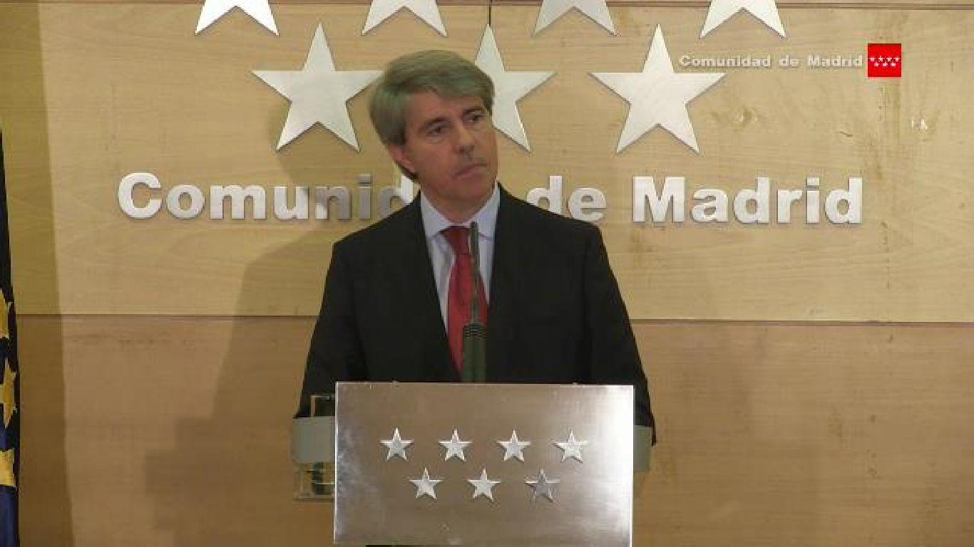 Ángel Garrido, presenta el balance del Gobierno regional en esta X legislatura autonómica (2015-2019)