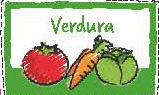 pegatina verdura diario saludable
