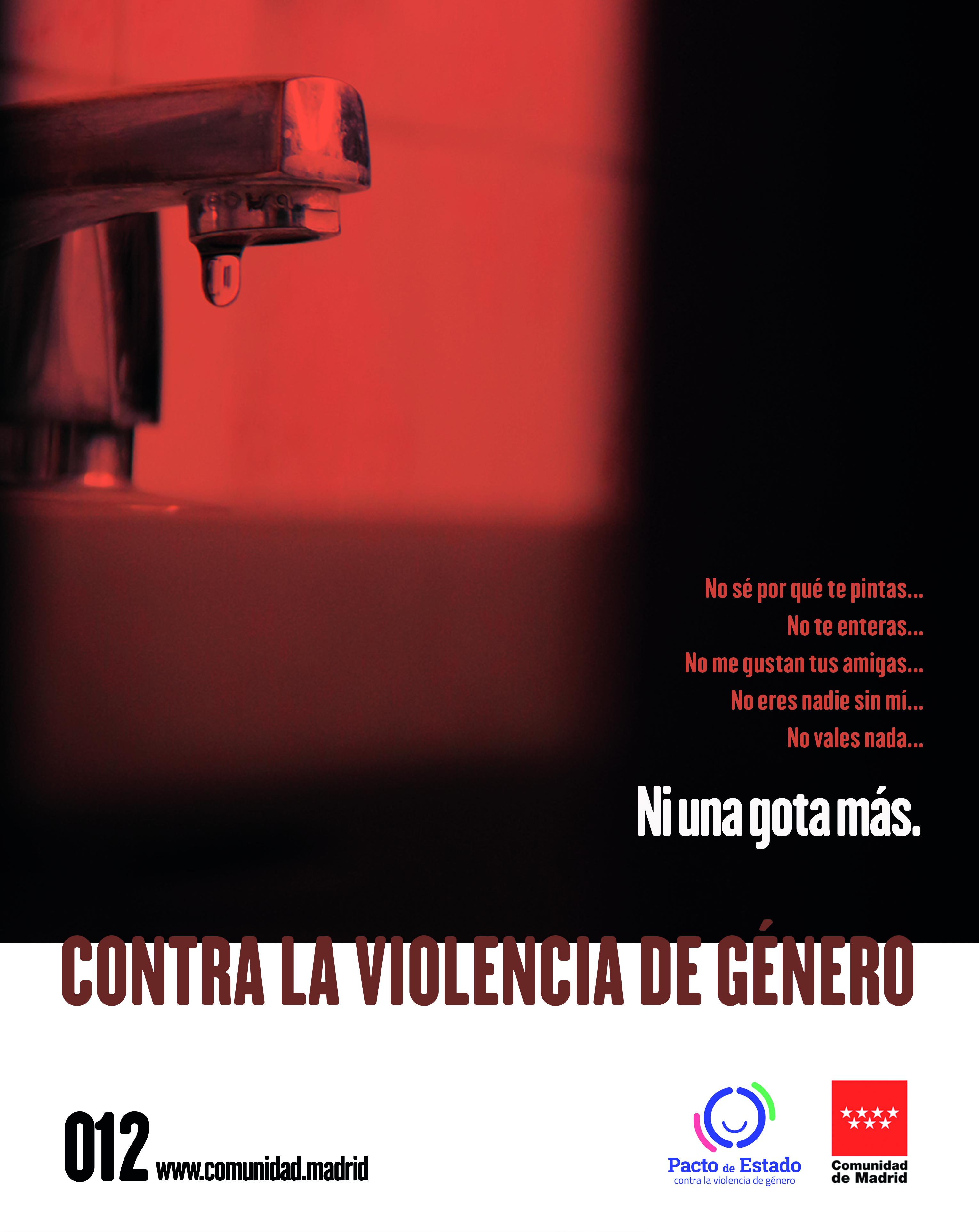 Campaña Contra La Violencia De Género Ni Una Gota Más