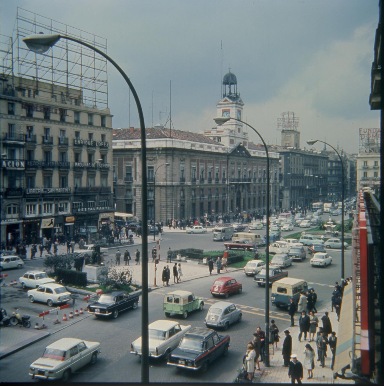 La Puerta del Sol en 1960