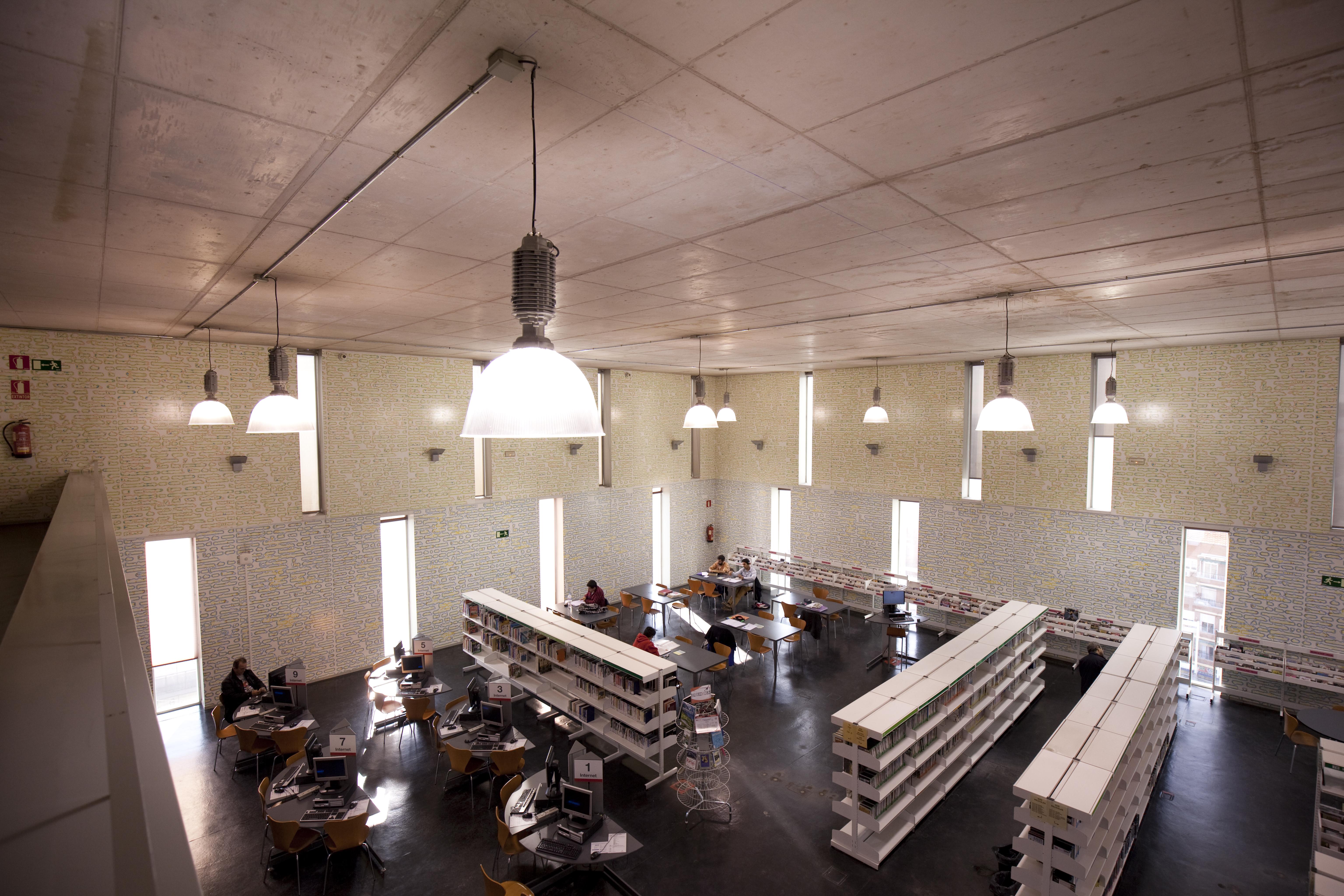 Biblioteca Pública José Hierro (Usera) | Comunidad de Madrid