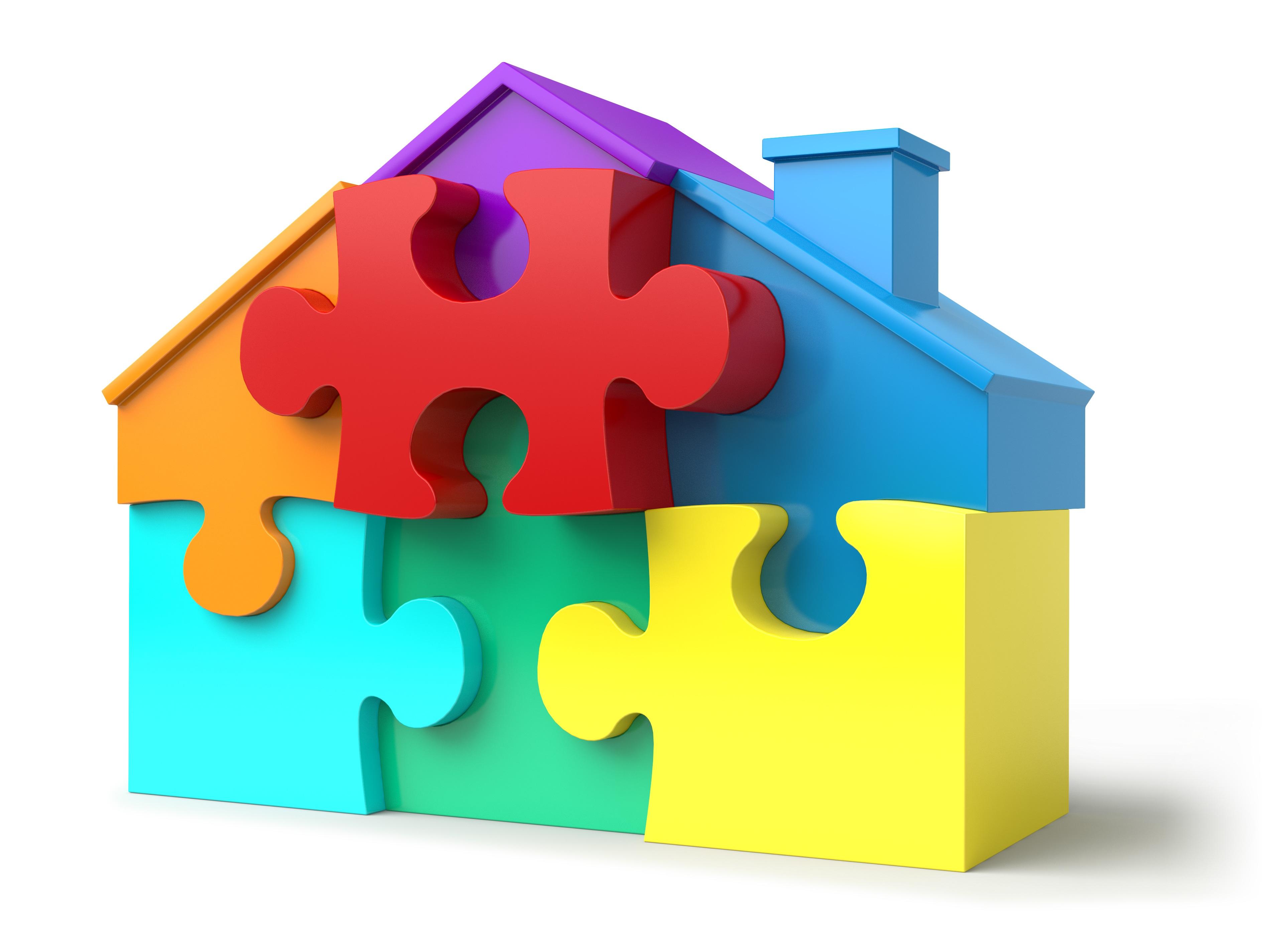Imagen de piezas de puzle