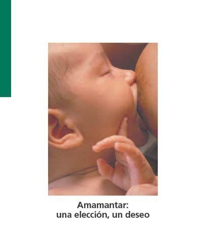 5c2579e56 Portada folleto Amamantar. Niño tomando el pecho