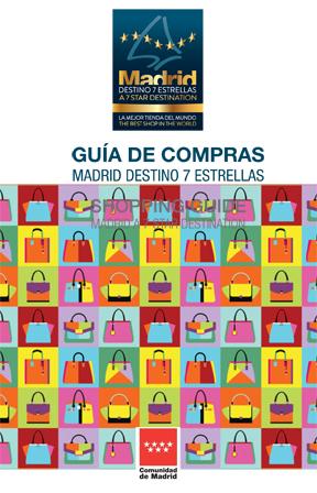 """Guía Compras """"Madrid Destino 7 Estrellas"""""""