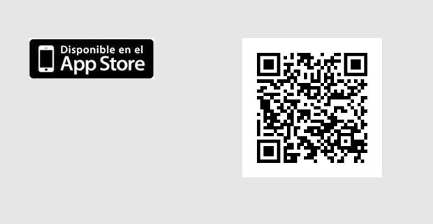 logo appstore y código qr