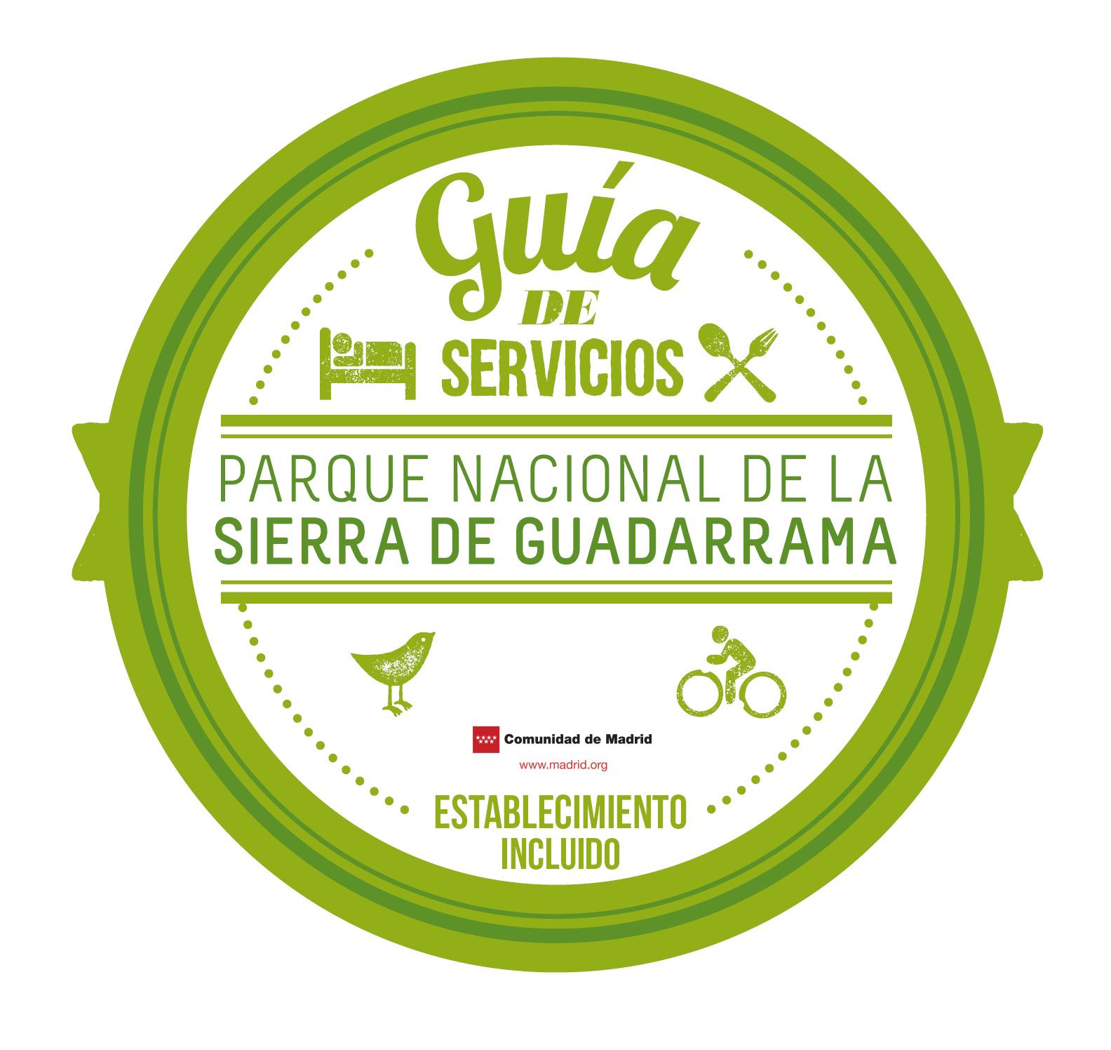 Distintivo para establecimientos de la Guía de Servicios