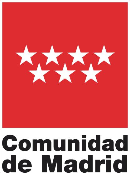LOGOTIPO CUADRADO DE LA COMUNIDAD DE MADRID