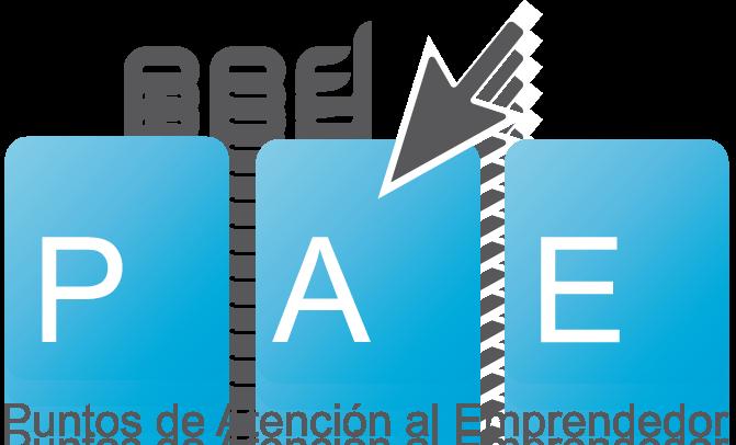 Logotipo Puntos de Atención al Emprendedor