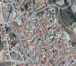 Vista aérea de municipio