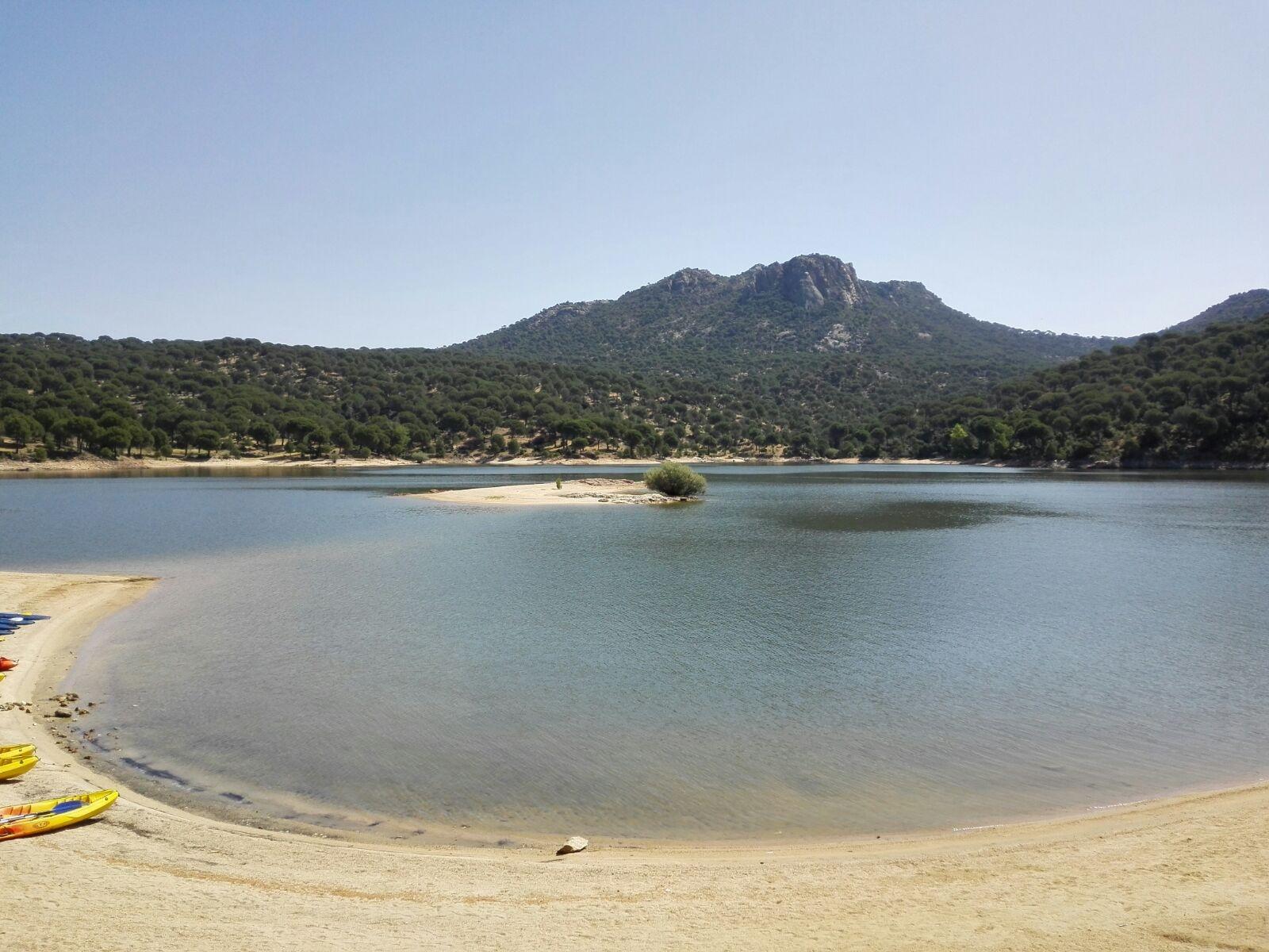 Imagen de la Zona de Baño de Virgen de la Nueva en el Pantano de San Juan