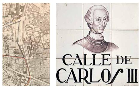 Carlos III + Mapa