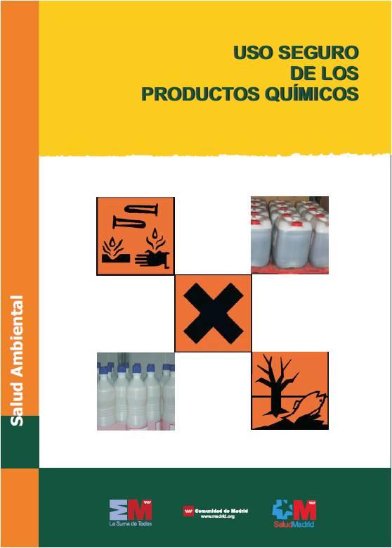 Imagen de la portada de la publicación Uso seguro de los productos químicos