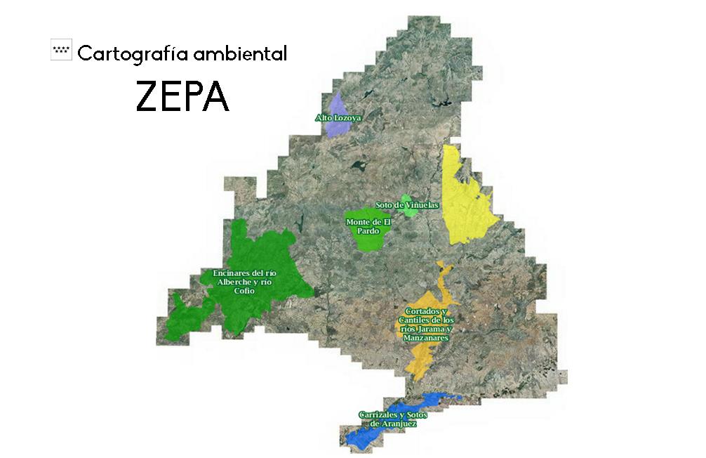 Mapa Zonas Especial Protección Aves