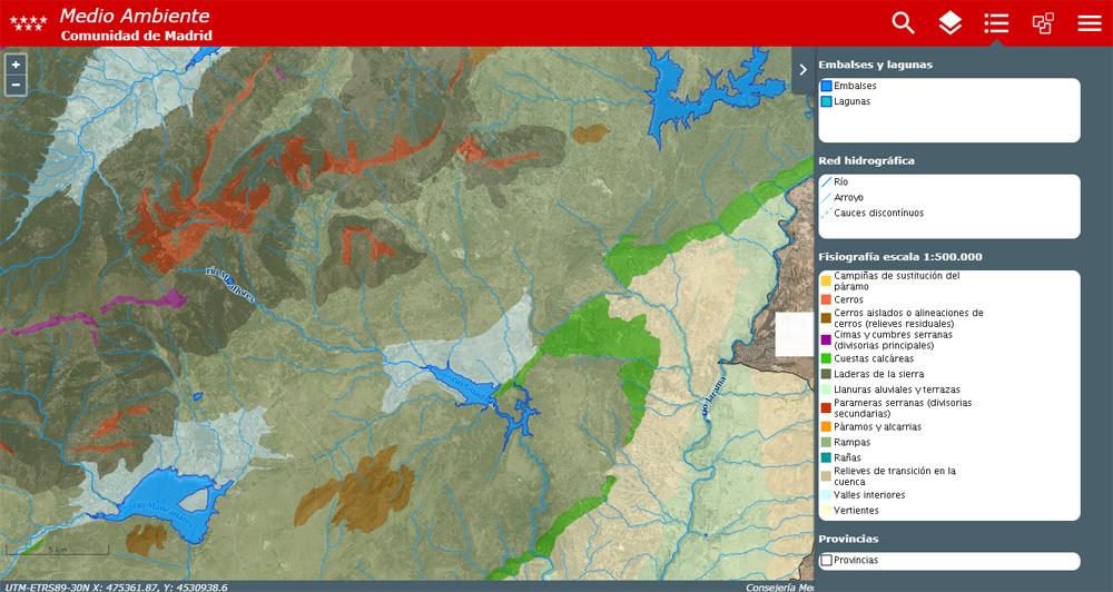 Accede al Visor de cartografía ambiental con un click