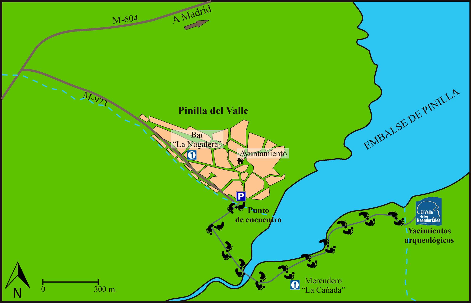 Plano de situación Pinilla