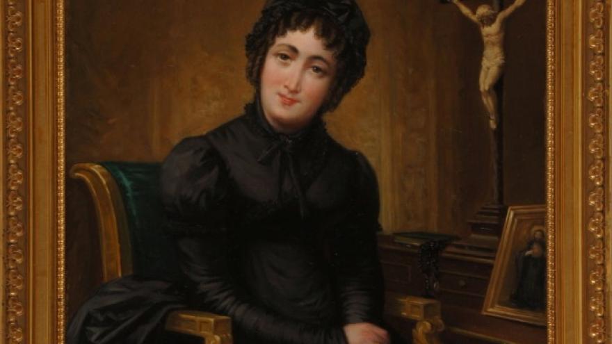 La beata princesa Pignatelli' 1825 José de Madrazo Agudo