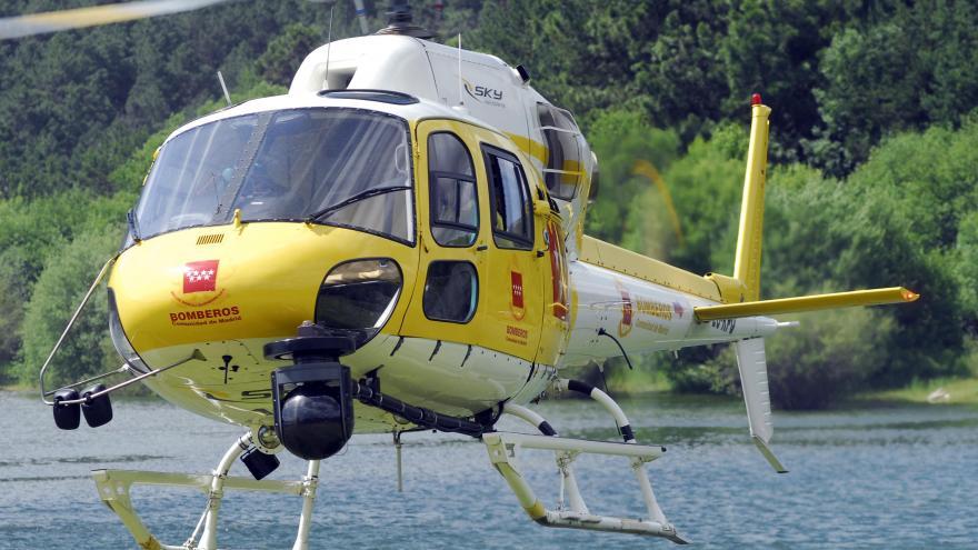 Helicóptero de coordinación: 1 unidad