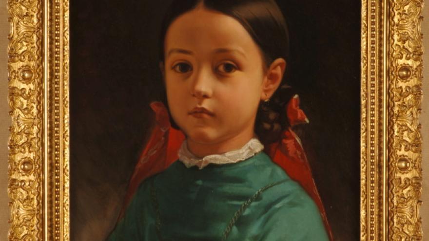 'Luisa de Madrazo Garreta' 1842-1843 Federico de Madrazo Kuntz