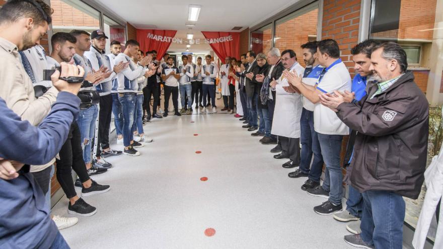Hospital Severo Ochoa | Maratón 'Sangre de Lux'