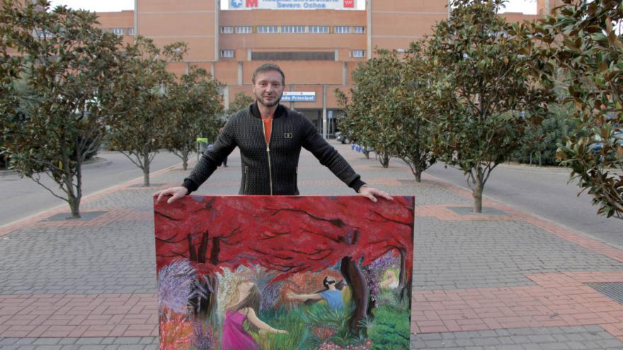 El artista lacianiego afincado en Alemania, Marco Lux