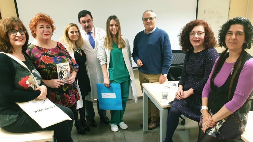 Ganadores de la IX edición del certamen de relatos breves 'Entre puntos y letras'