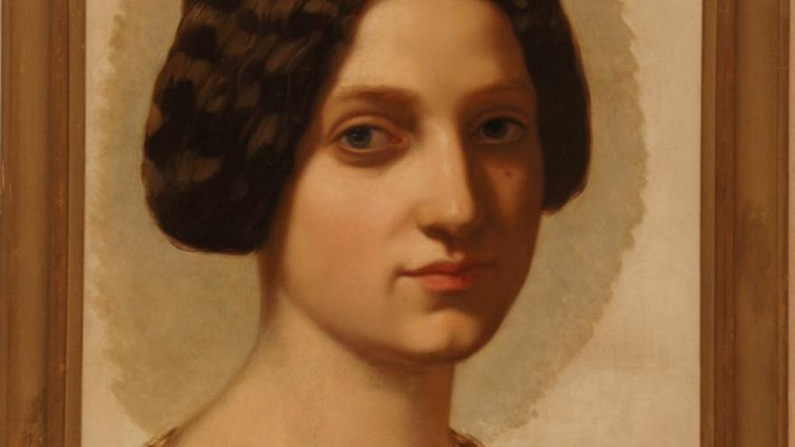 'Estudio de cabeza, Roma' 1841 Federico de Madrazo Kuntz