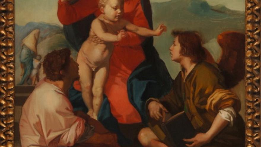Madonna della scala (copia de Andrea del Sarto) 1842-1844 Federico de Madrazo