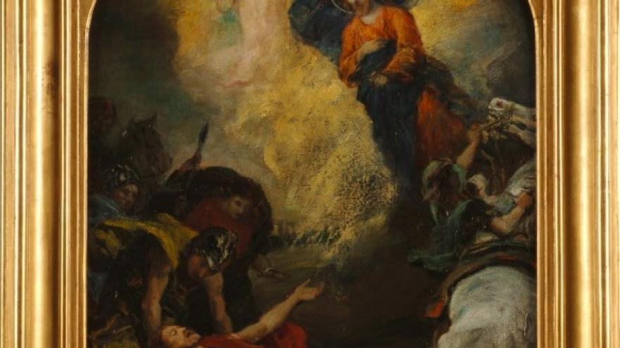 'Conversión de San Pablo' 1857-1859 Raimundo de Madrazo