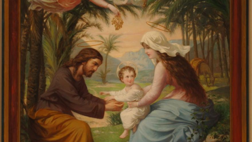 'La Sagrada Familia' 1870 Luis de Madrazo