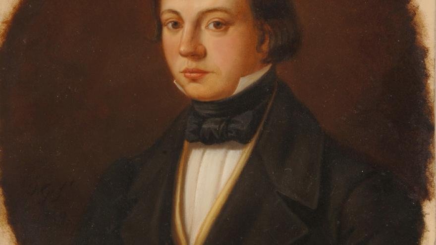 'Sebastián María Gabriel de Borbón, Infante de España' 1849 Luis de Madrazo
