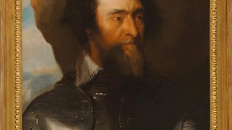 'Conde Enrique Bergh (Copia de Anton Van Dyck)' 1846-1848 Luis de Madrazo