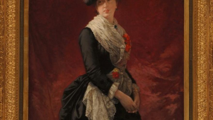 'Cecilia de Madrazo Garreta' 1880 Luis de Madrazo