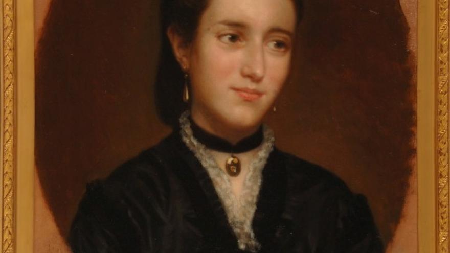'Señora de Creus' 1870 Luis de Madrazo