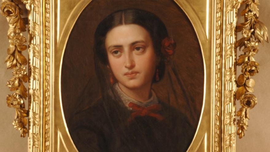 'Luisa de Madrazo Garreta' 1860 Luis de Madrazo
