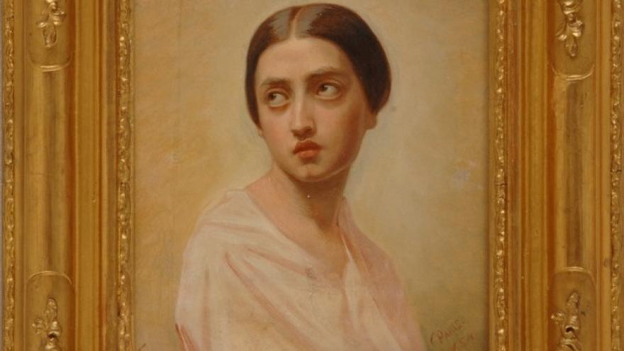 'Luisa de Madrazo Garreta' 1854 Luis de Madrazo
