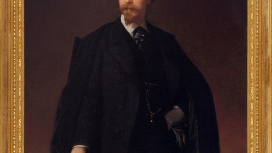 'Autorretrato' 1862 Luis de Madrazo