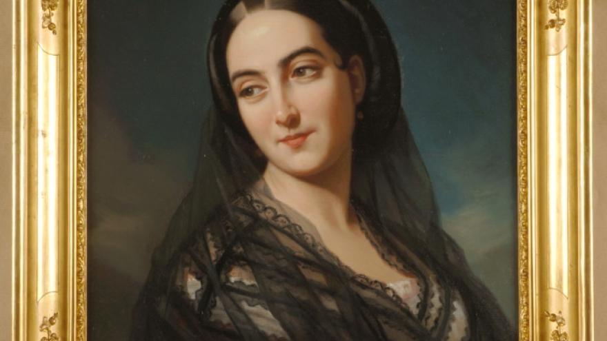 'Señora de Lanuza' 1856-1858 Luis de Madrazo